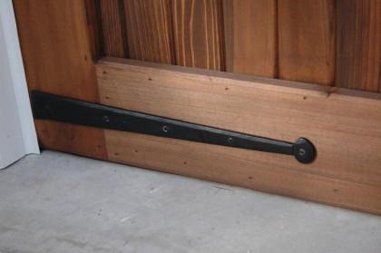 Elegant Dummy Hinge Fronts Turn A Garage Door Into A Carriage House Door