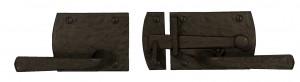 Dark Bronze Contemporary Gate Latch, Item# 60-360