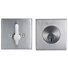 Stainless Steel Square Deadbolt