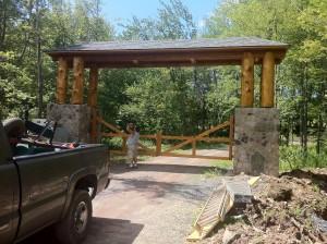 Ranch Driveway Entrance Curb Appeal