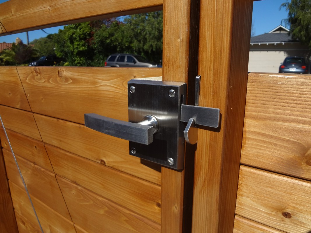 Alta Stainless Steel Gate Latch For Double Gates