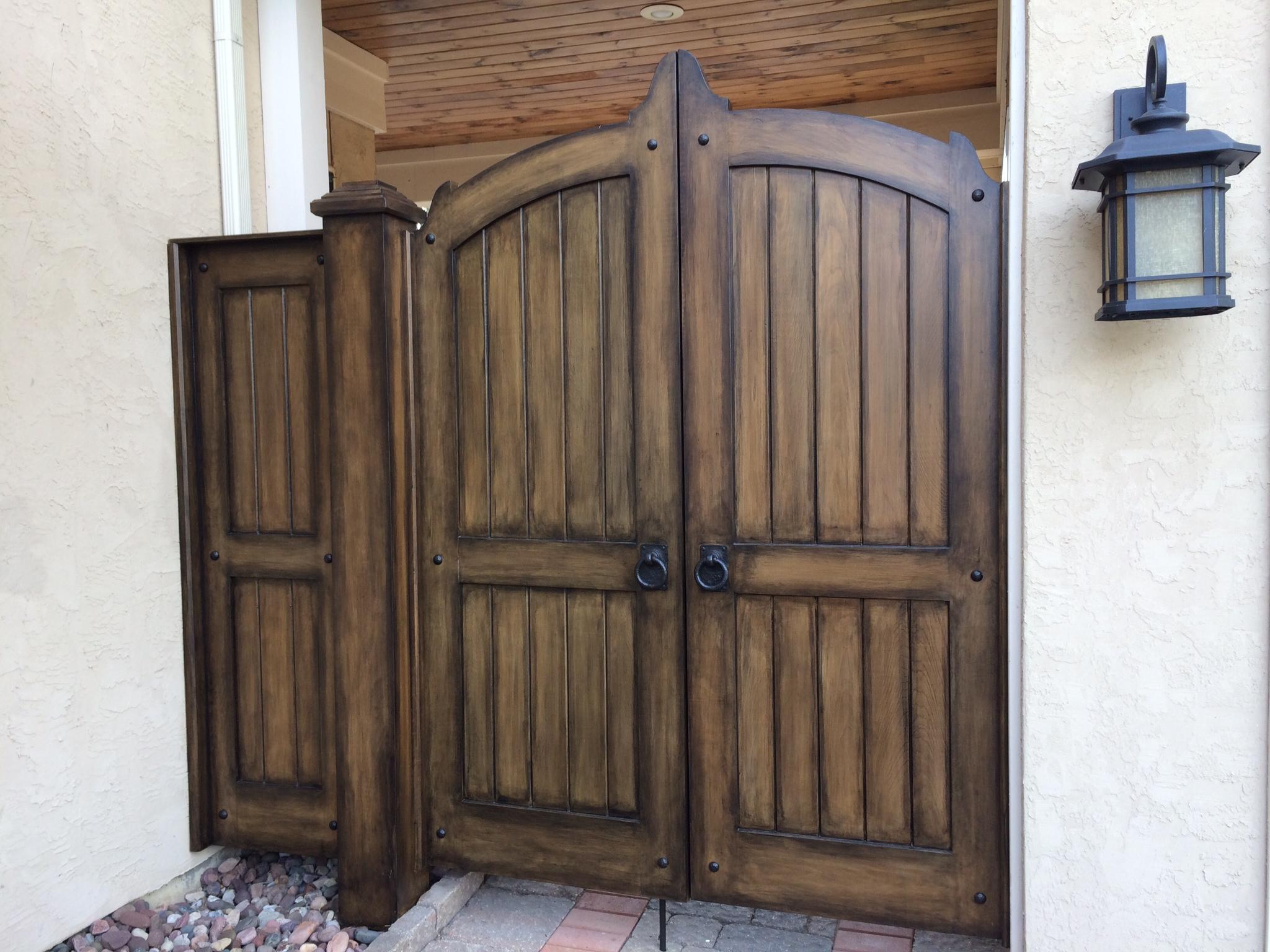 Project Profile Decorative Garage Door Hinges Double Gate