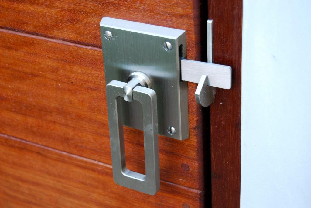 Marine grade stainless steel elise gate latch by 360 yardware