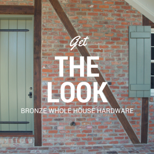 Bronze door and shutter hardware by Coastal Bronze