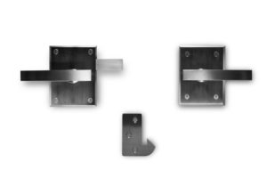 Alta Stainless Steel Contemporary Modern Gate Lever Latch