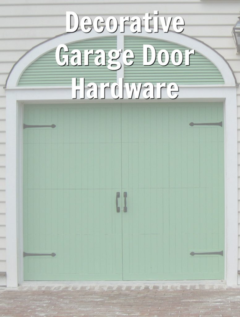 garage hardware decorative door magnetic before