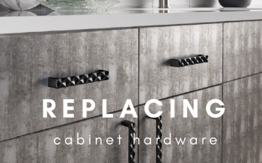 DIY Replacing Cabinet Hardware