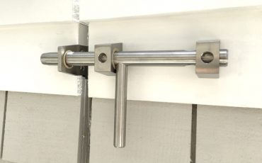 modern Lockable stainless gate latch by 360 yardware