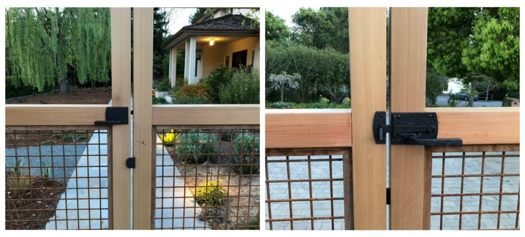 Dark Bronze Contemporary Level Latch and Gate Stop