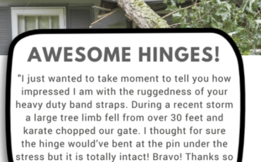 Heavy Duty Band Strap Testimonial