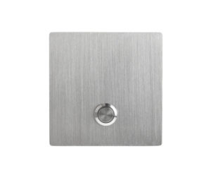 Modern Stainless Wired Doorbell Button