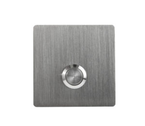 MSH Stainless Steel Square Doorbell Button