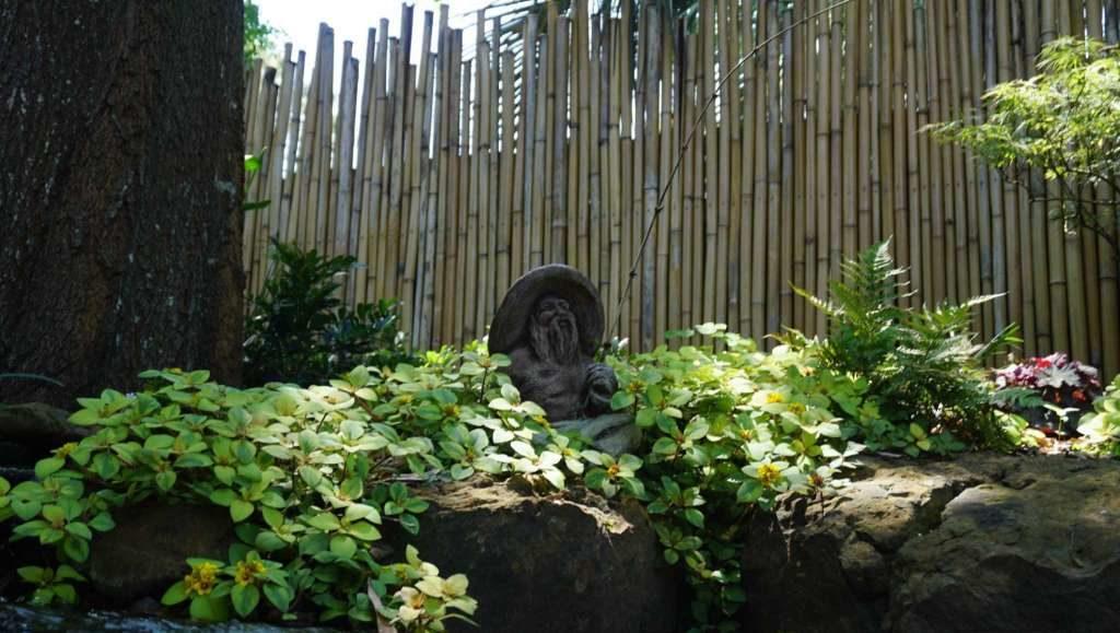 Asian-Inspired Garden in Kingwood Houston