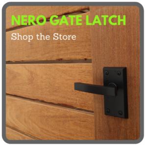 Nero Lever Latch