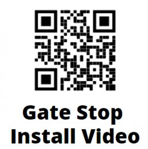 Gate Stop QR Code Installation Instruction